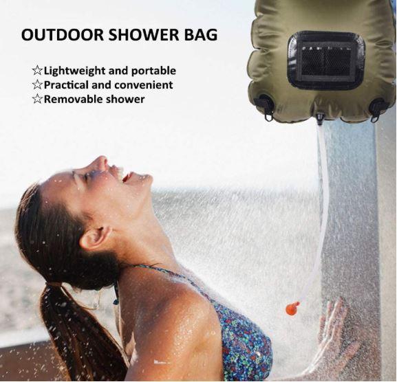 comprar duchas baratas para camping