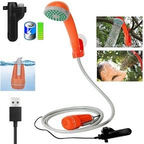 comprar ducha portátil con bateria