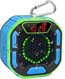 comprar Altavoz Bluetooth para Ducha Portátil