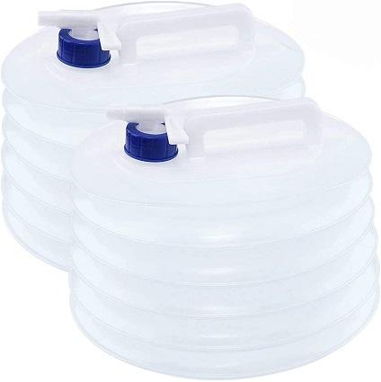 comprar Tebery Contenedor Plegable de Agua de 2 X 10 L