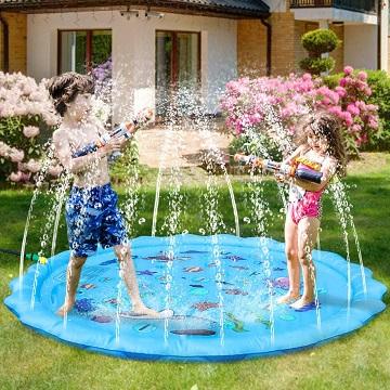 Alfombra de juegos de agua